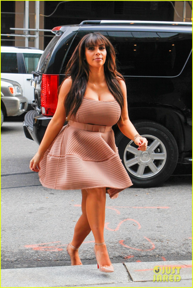 kim kardashian on her pregnancy i feel really good 07