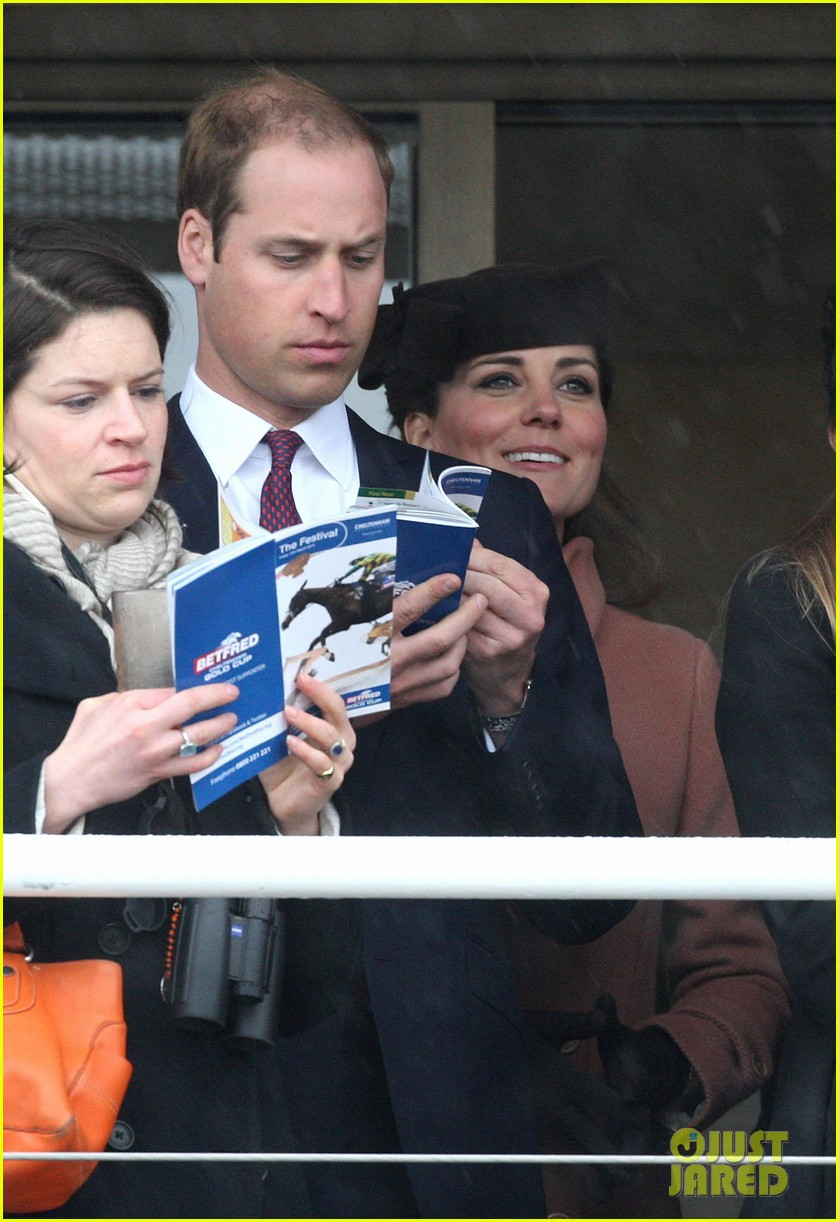 kate middleton pregnant cheltenham visit with prince william052831102