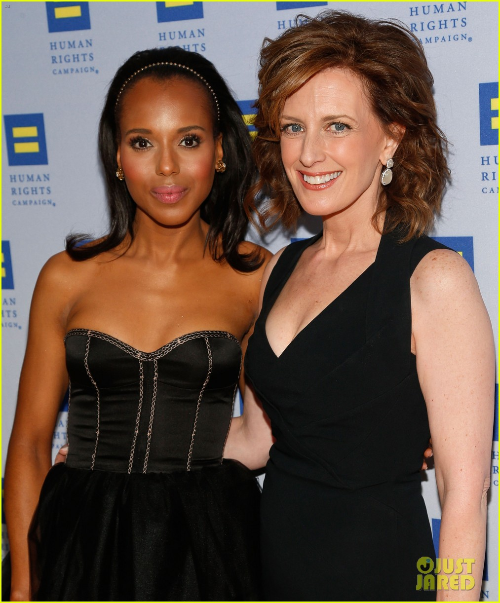 kerry washington lance bass human rights campaign gala 2013 052836939
