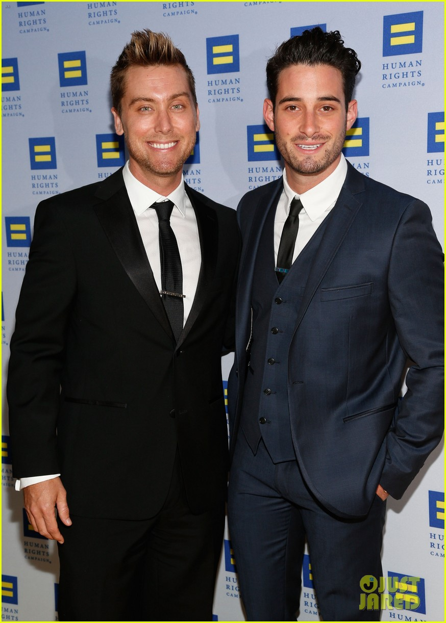 kerry washington lance bass human rights campaign gala 2013 072836941