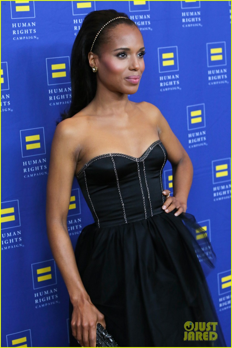 kerry washington lance bass human rights campaign gala 2013 112836945