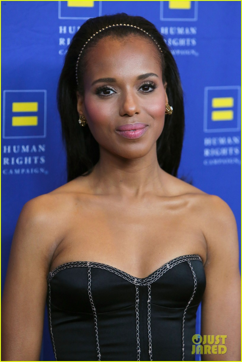 kerry washington lance bass human rights campaign gala 2013 122836946