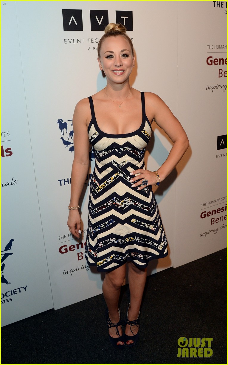 kesha kaley cuoco genesis awards gala 2013 032836747