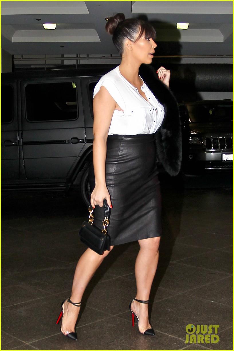 kim kardashian pregnant il pastaio lunch 052835180