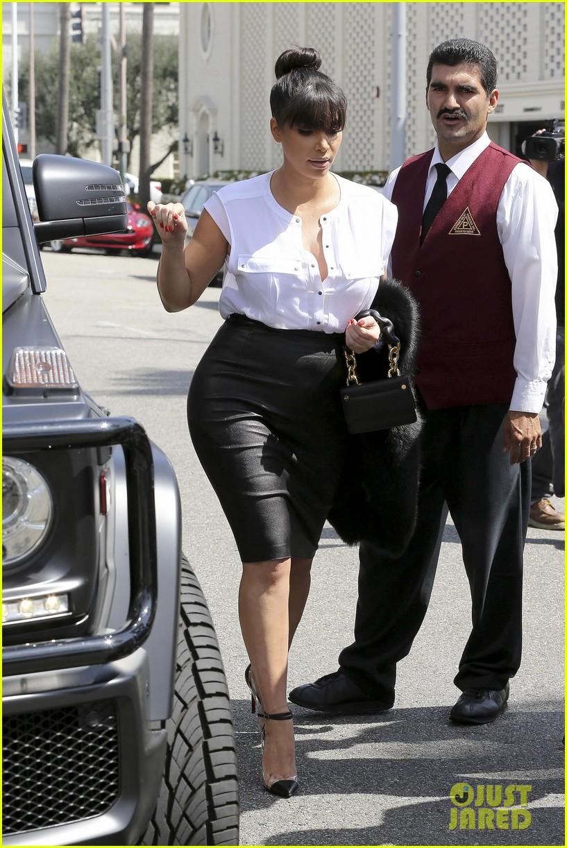 kim kardashian pregnant il pastaio lunch 06