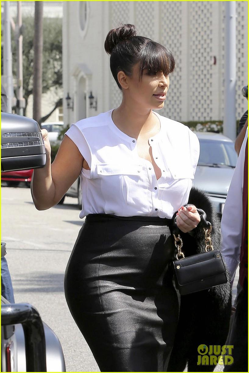 kim kardashian pregnant il pastaio lunch 072835182