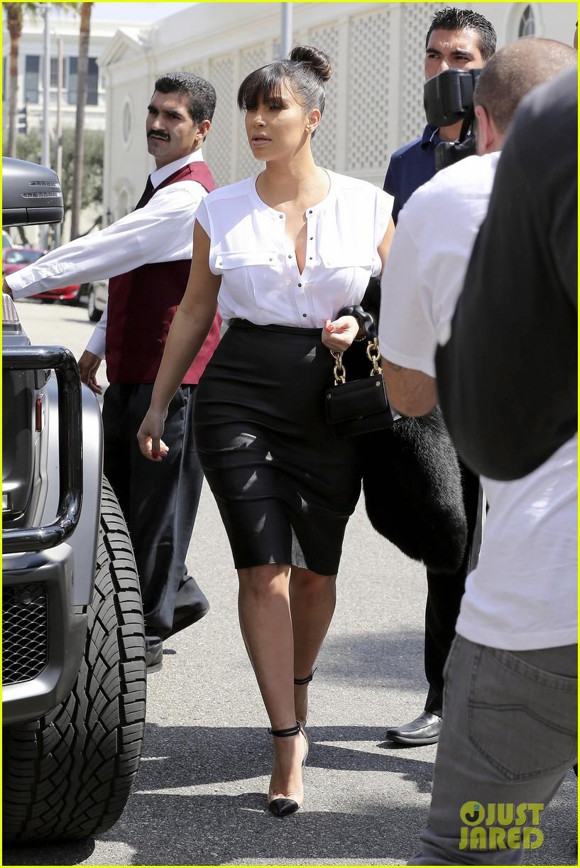 kim kardashian pregnant il pastaio lunch 082835183