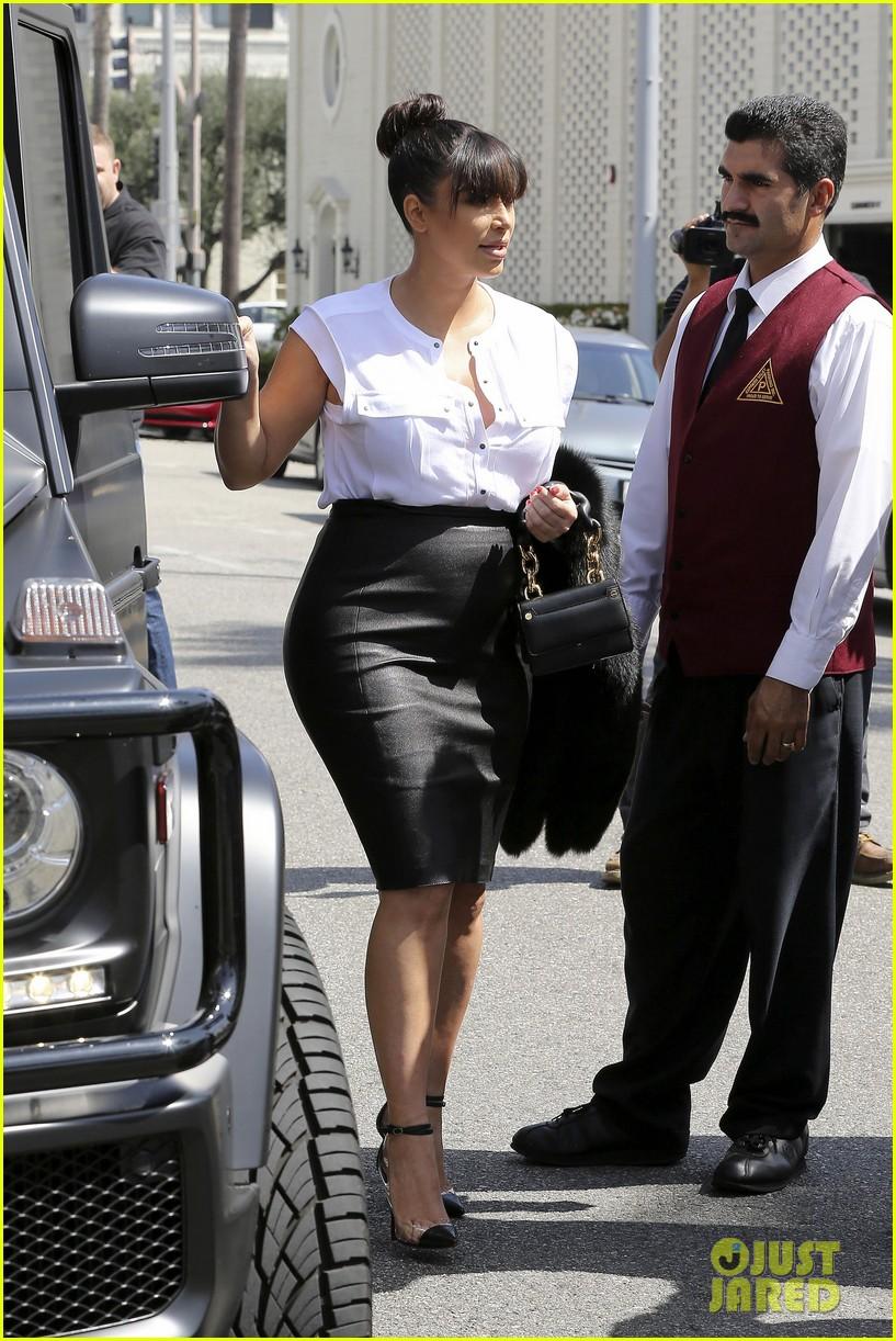 kim kardashian pregnant il pastaio lunch 092835184