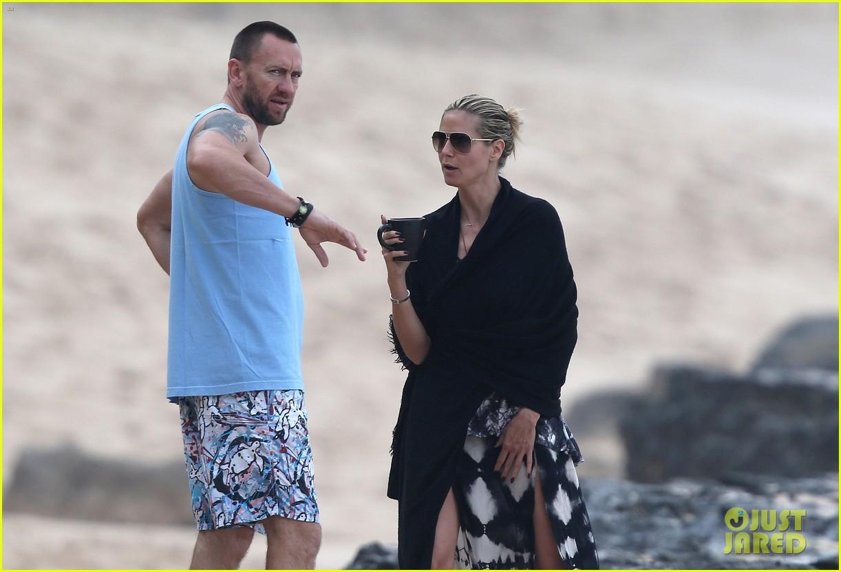 heidi klum martin kirsten hawaii beach day with the family 162838126