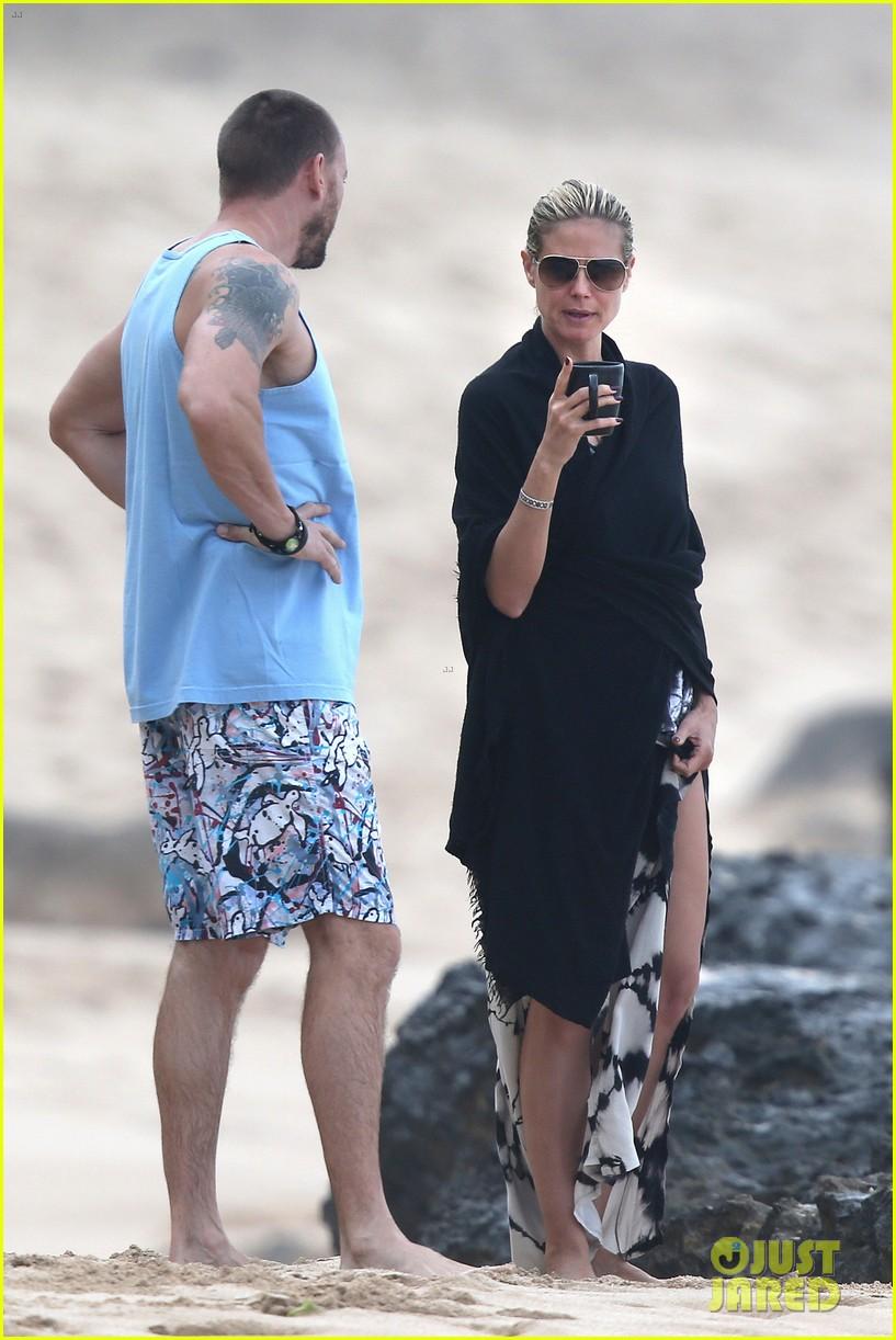 heidi klum martin kirsten hawaii beach day with the family 172838127