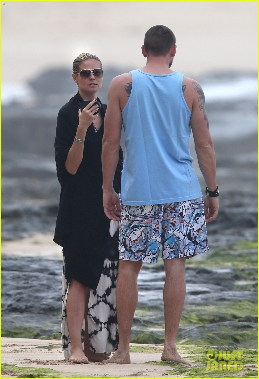 heidi klum martin kirsten hawaii beach day with the family 182838128