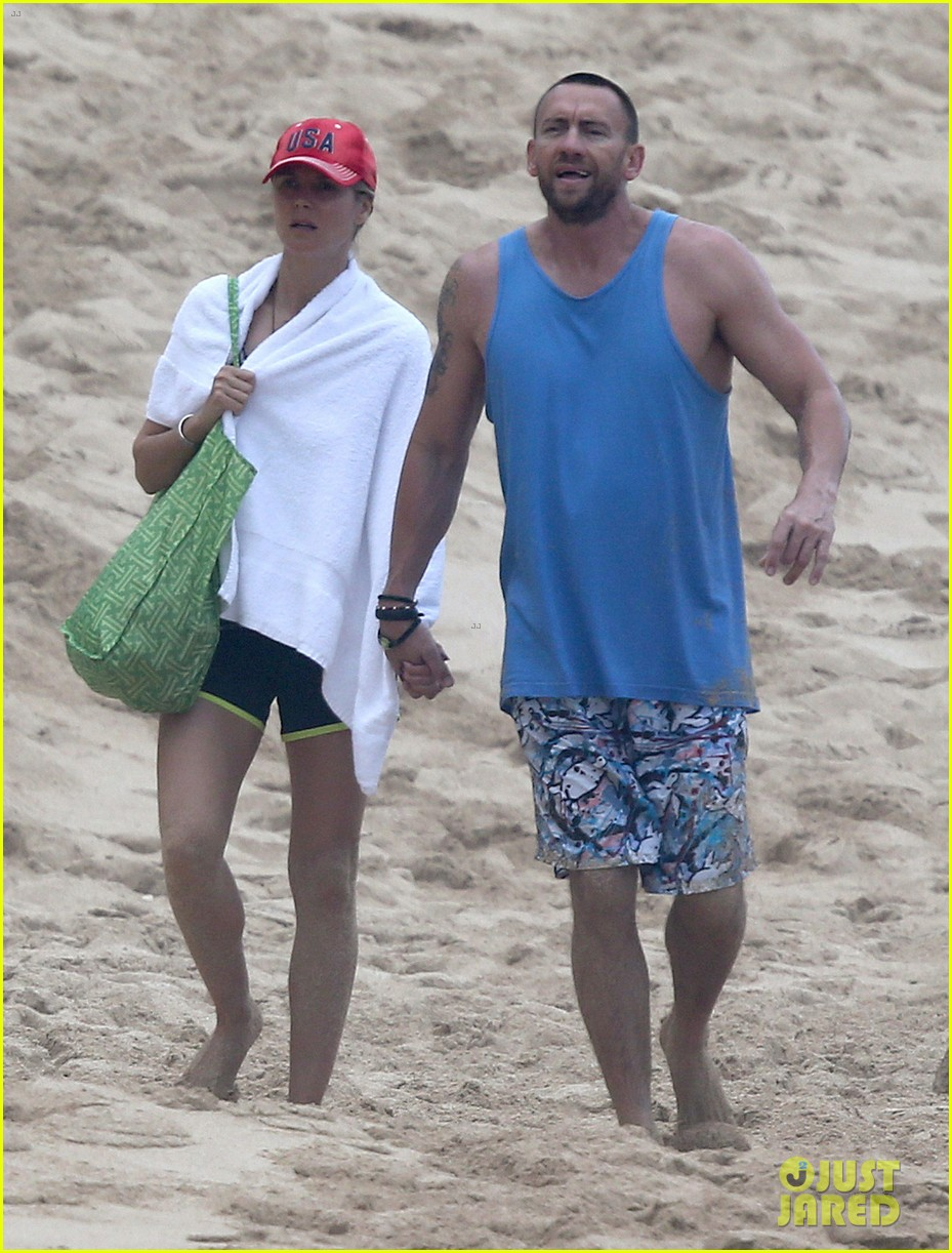 heidi klum martin kirsten hawaii beach day with the family 202838130