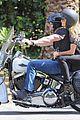 heidi klum martin kirsten brentwood motorcycle ride 35