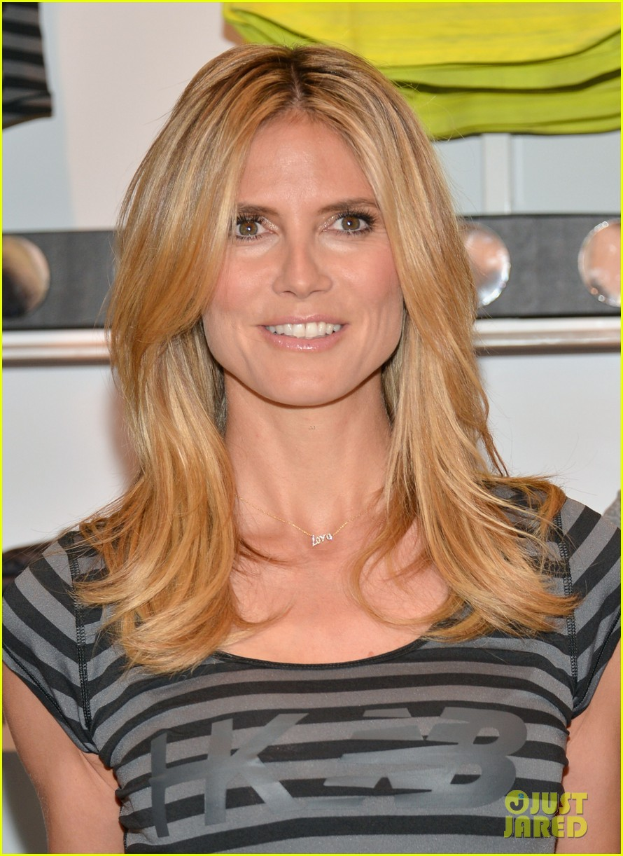 heidi klum new balance collection launch 022831028