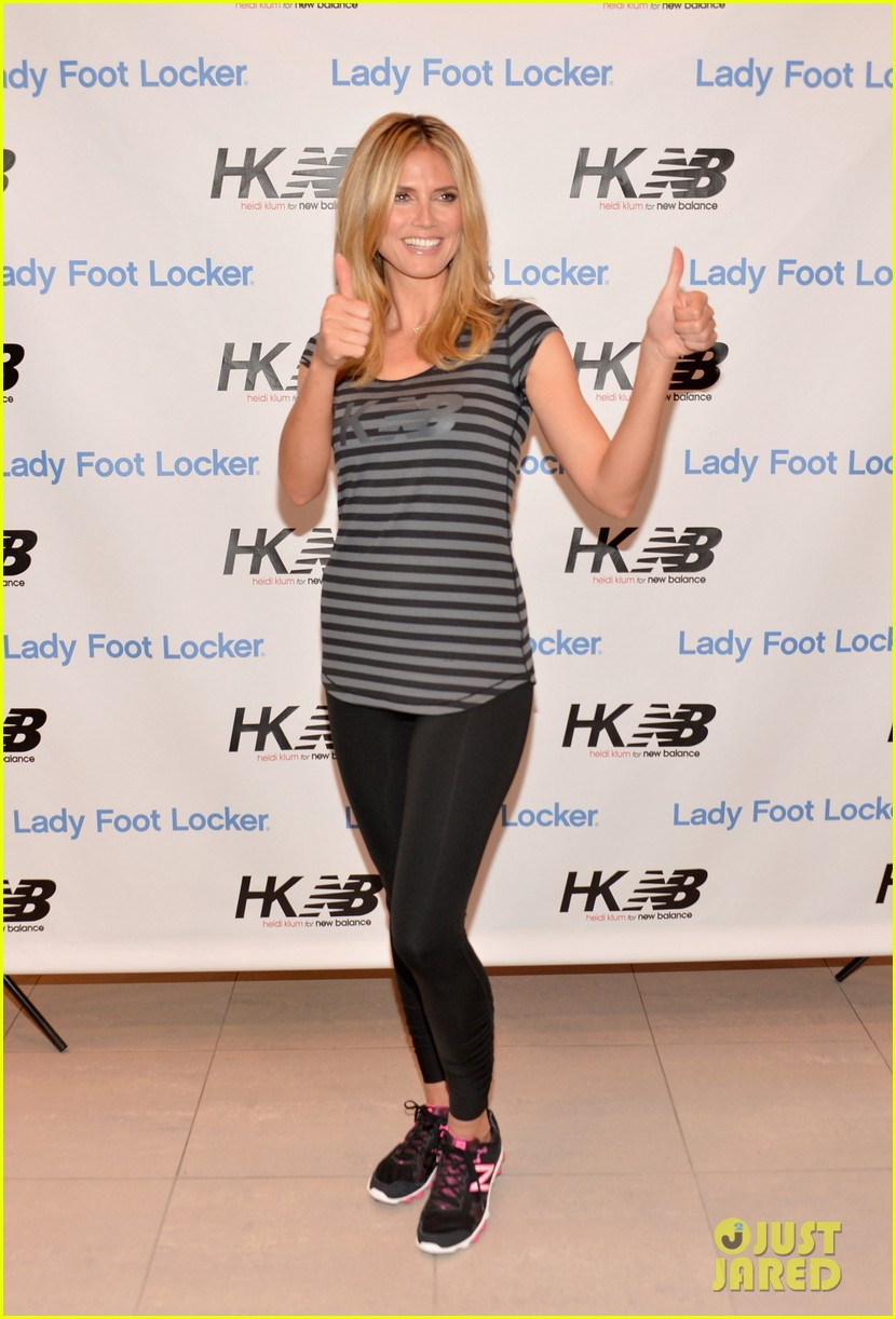 heidi klum new balance collection launch 092831036