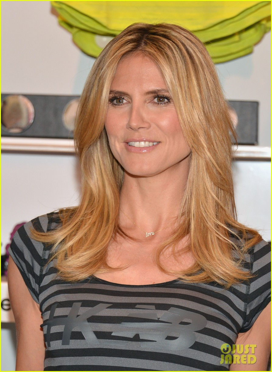 heidi klum new balance collection launch 182831045