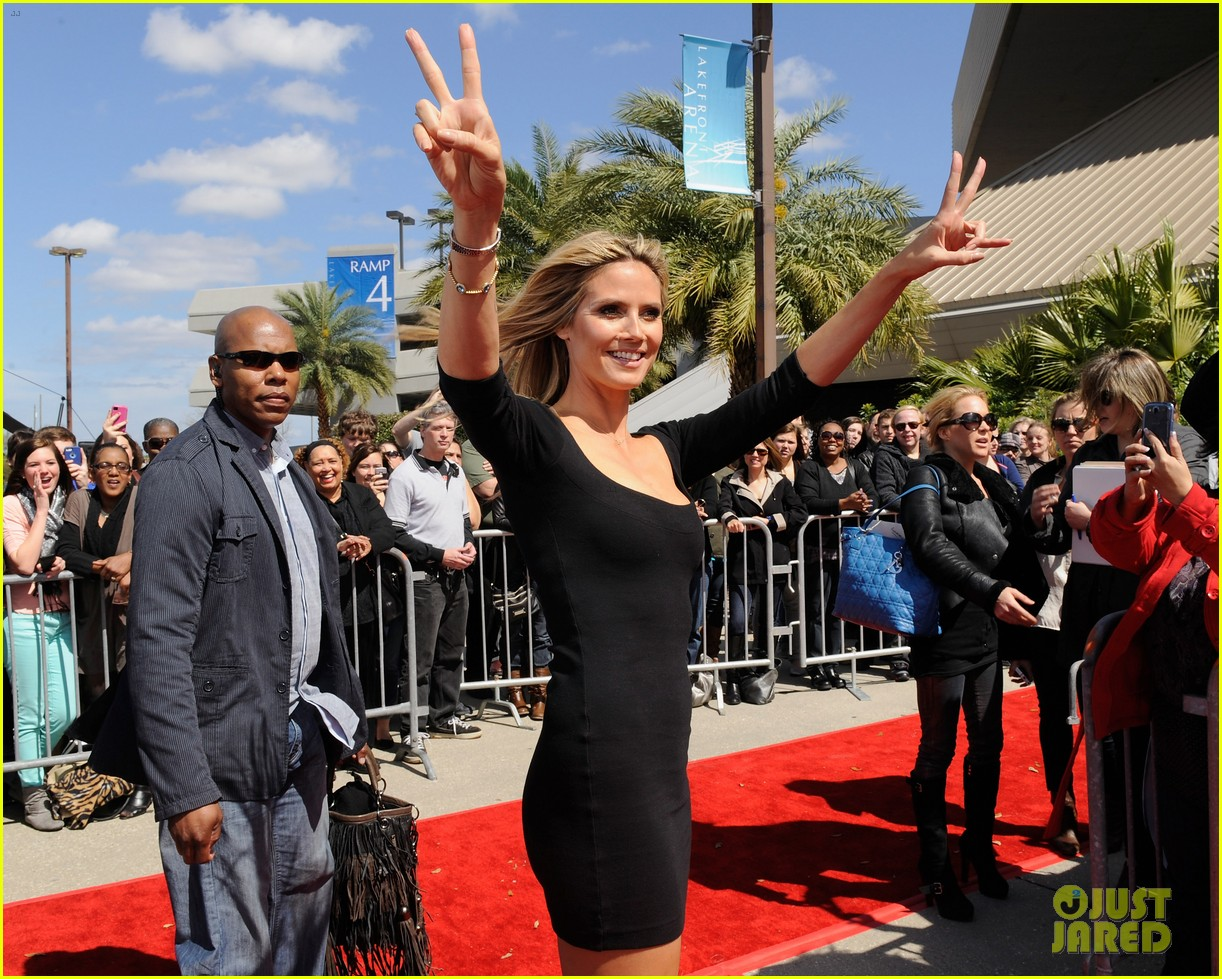heidi klum mel b americas got talent taping 102825021