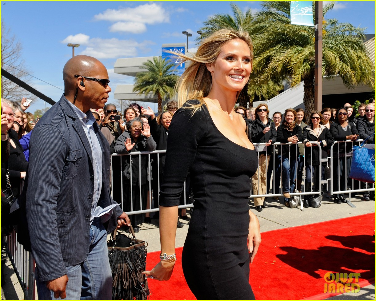 heidi klum mel b americas got talent taping 122825023
