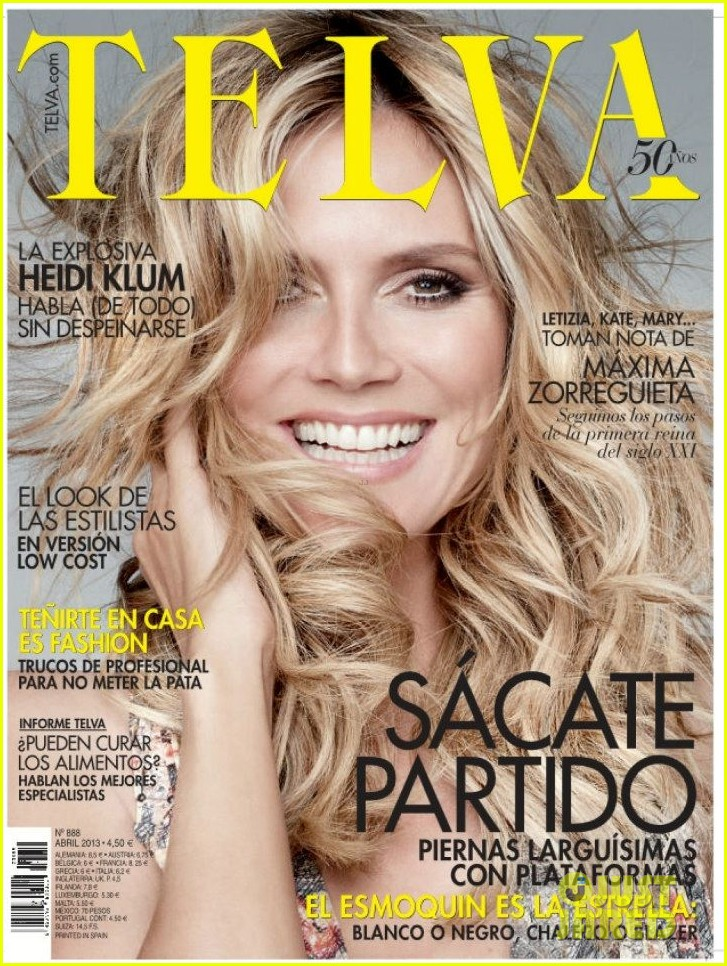 heidi klum covers telva magazine april 2013 022839724