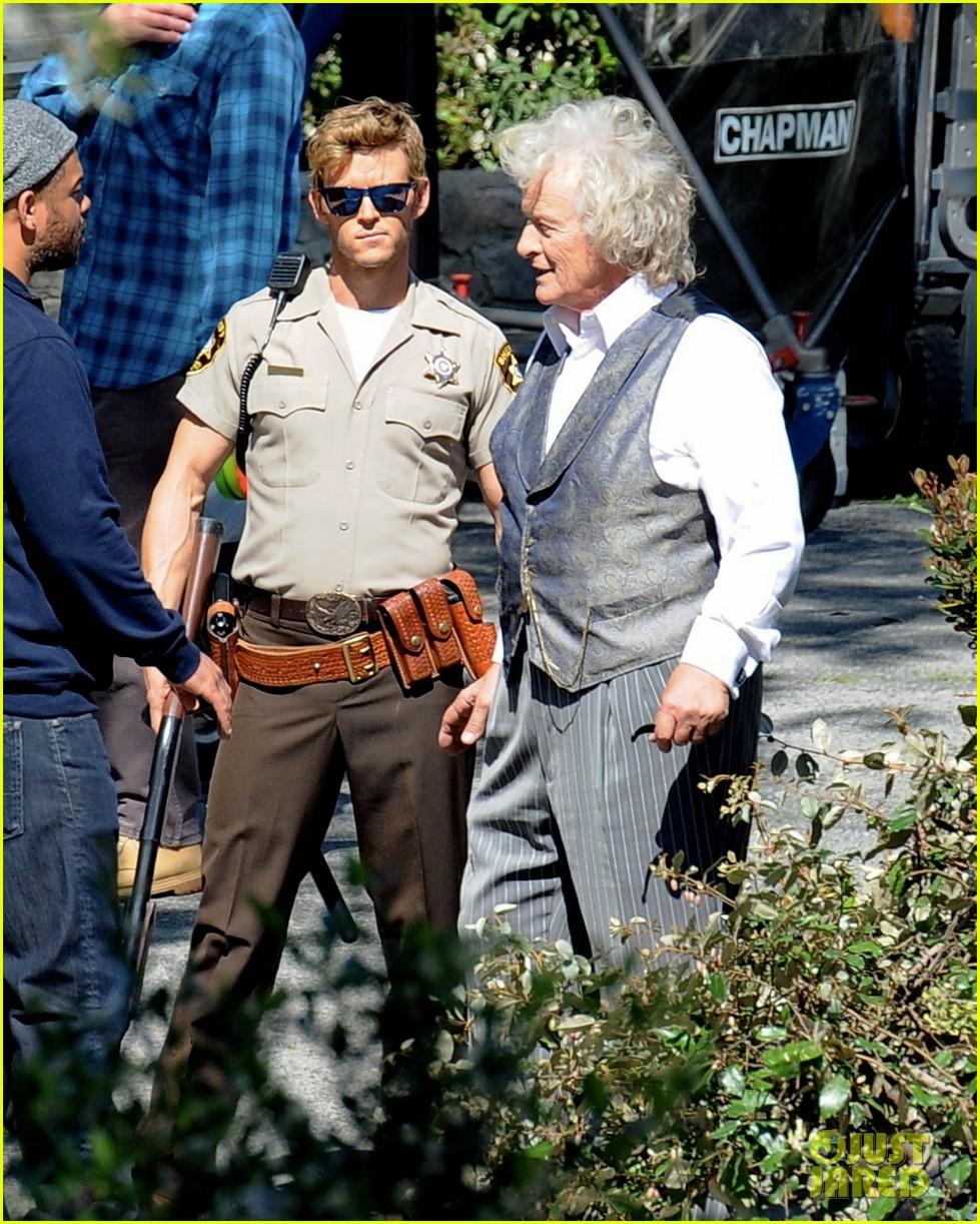 Ryan Kwanten: 'True Blood' Set With Rutger Hauer!: Photo