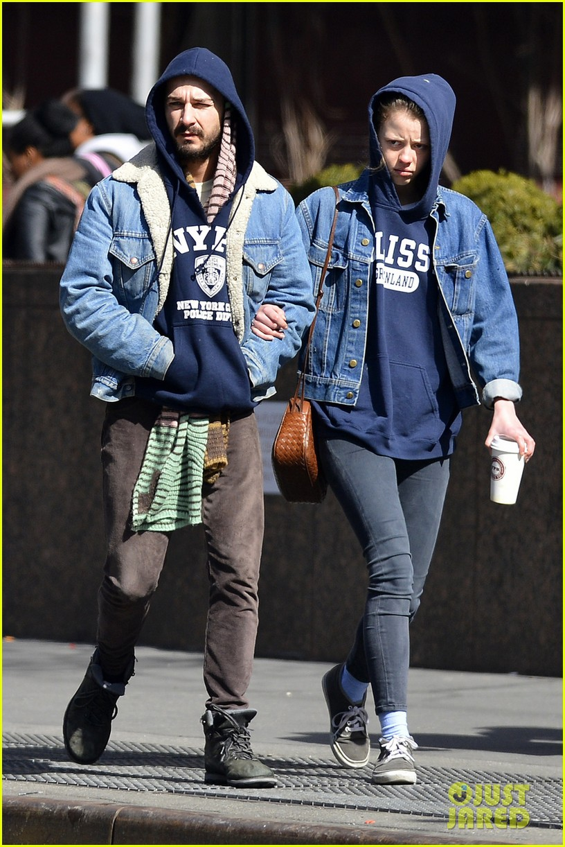 shia labeouf mia goth new york twosome 022828803