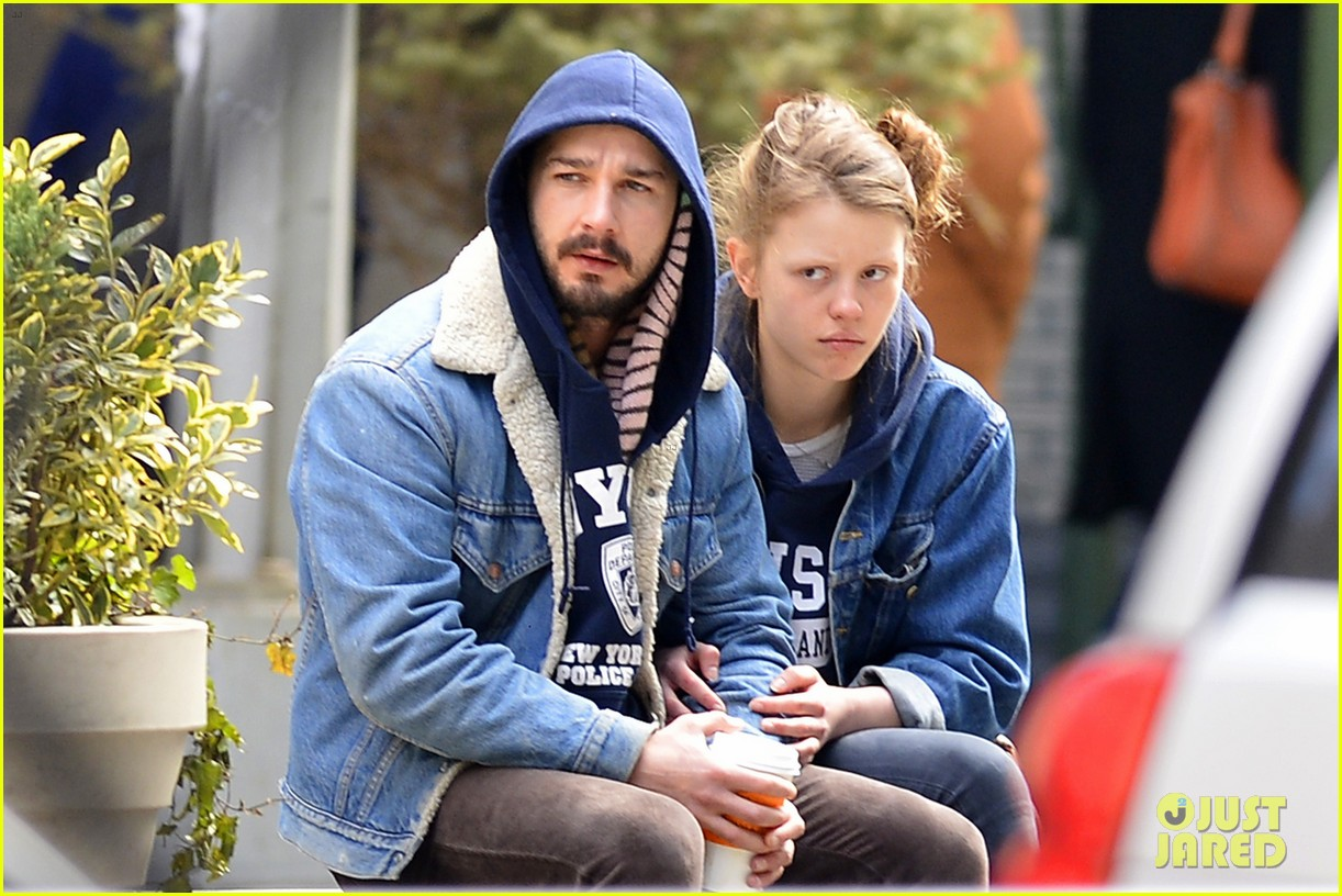 shia labeouf mia goth new york twosome 042828805