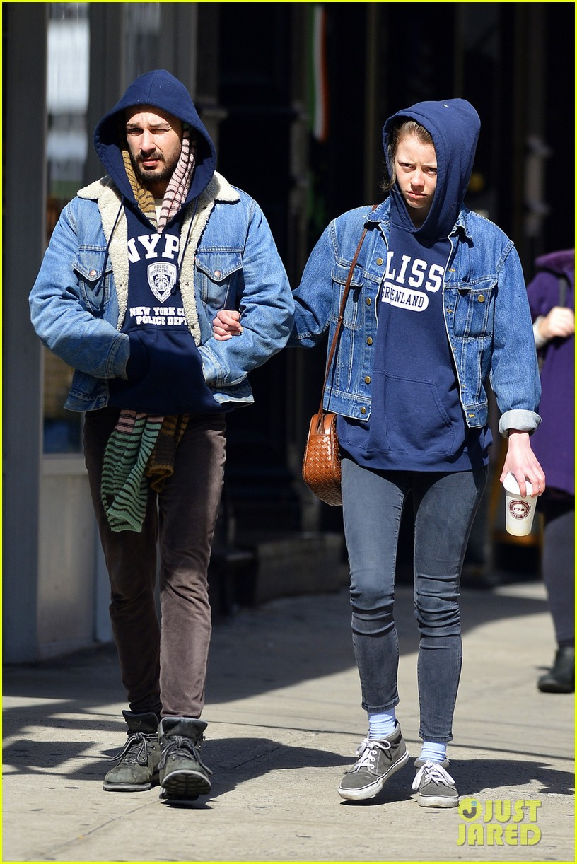 shia labeouf mia goth new york twosome 062828807