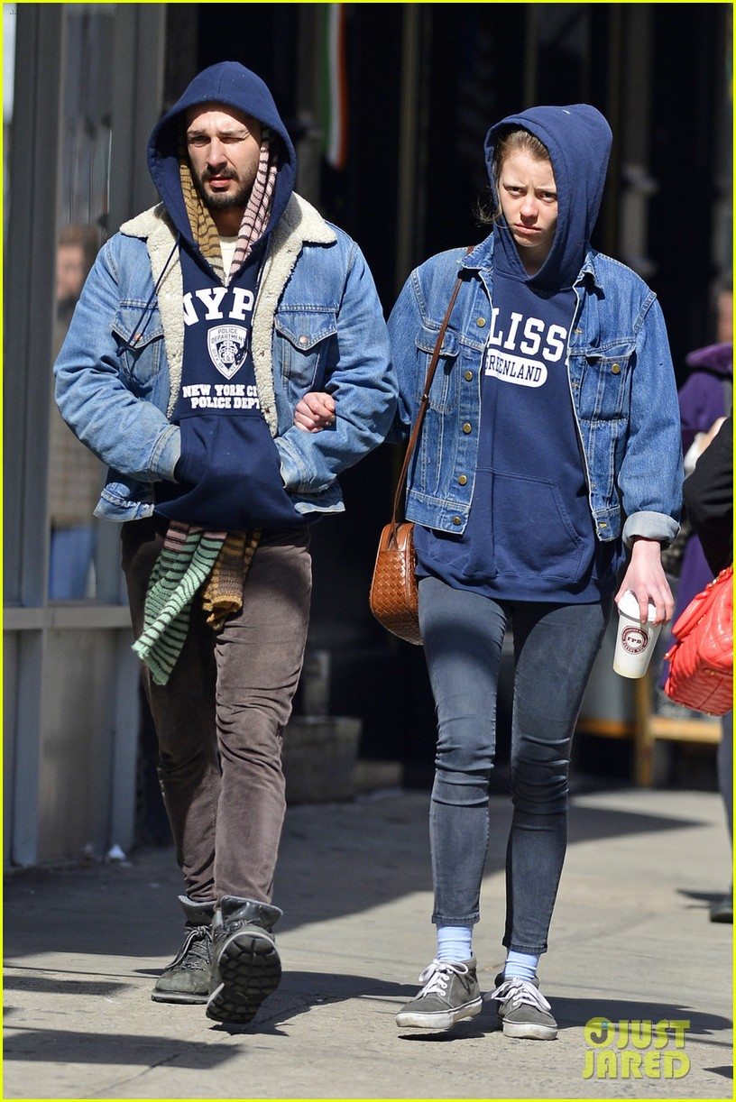 shia labeouf mia goth new york twosome 07