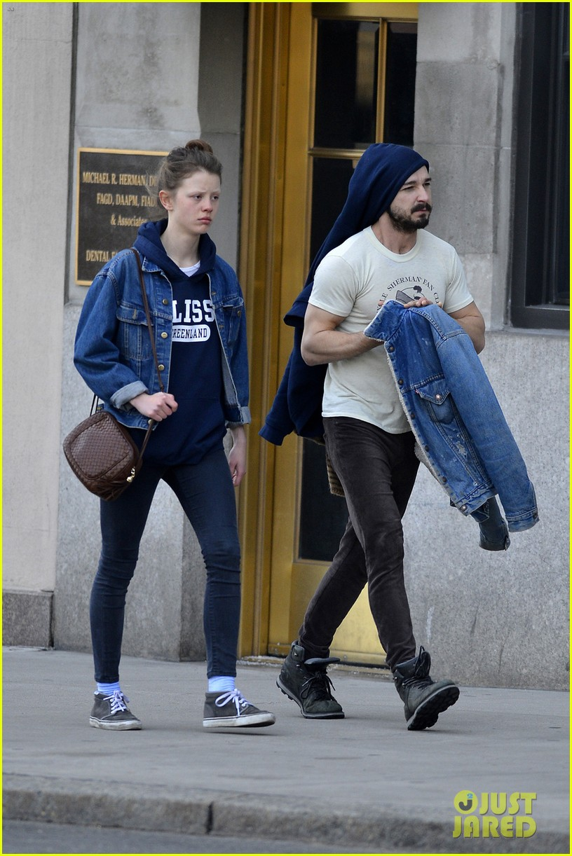 shia labeouf mia goth new york twosome 10