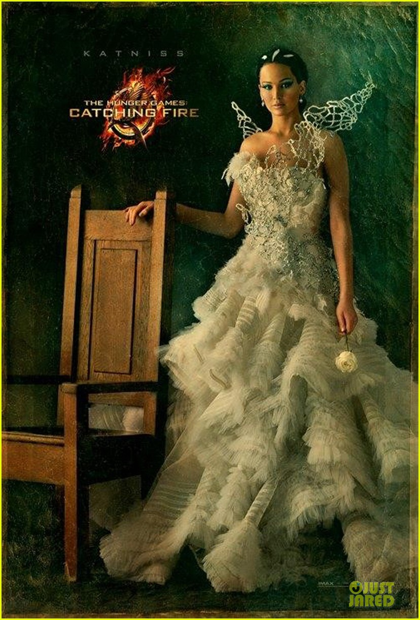 jennifer lawrence hunger games cathing fire katniss portrait 01