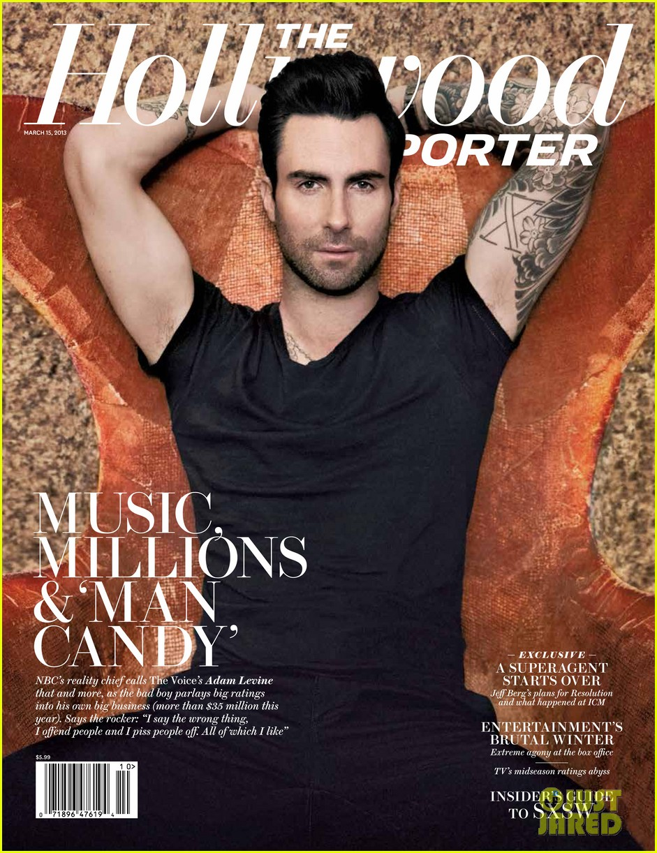 adam levine covers the hollywood reporter 012826086