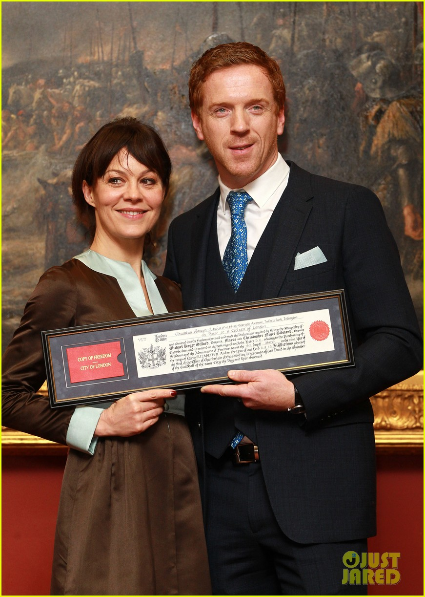 damian lewis freedom of the city of london award recipient 022833472
