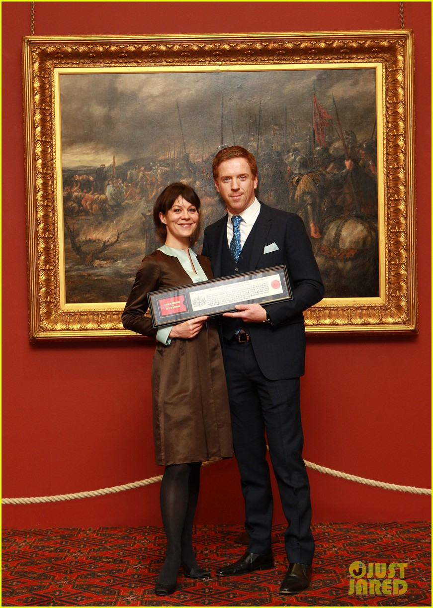 damian lewis freedom of the city of london award recipient 032833473