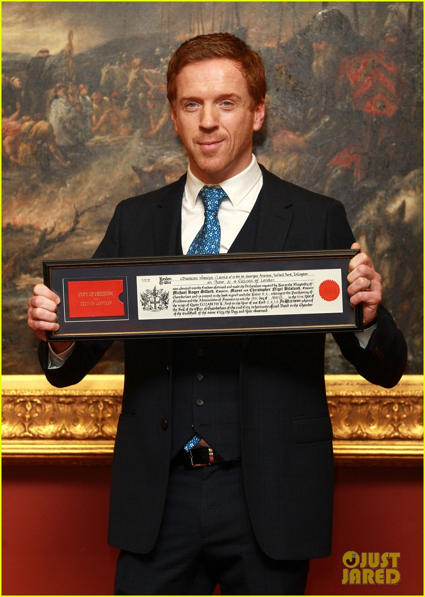 damian lewis freedom of the city of london award recipient 072833477