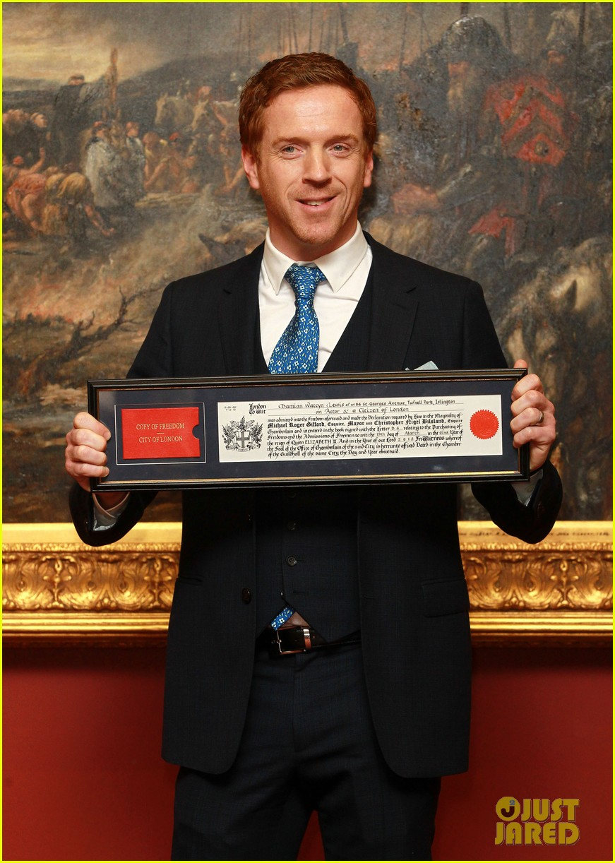 damian lewis freedom of the city of london award recipient 082833478