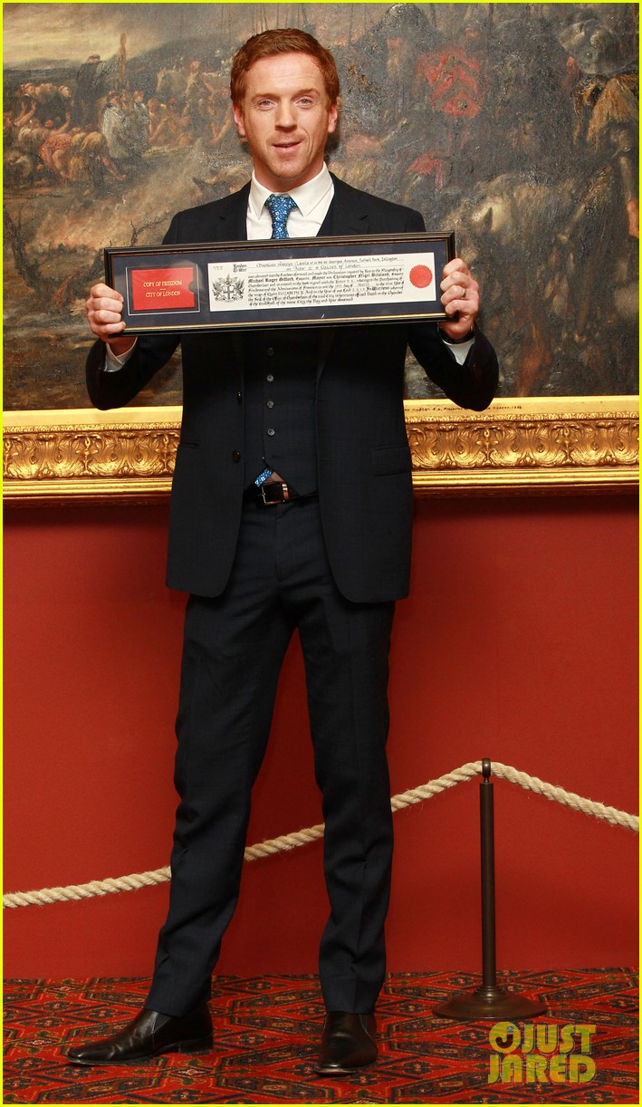 damian lewis freedom of the city of london award recipient 092833479