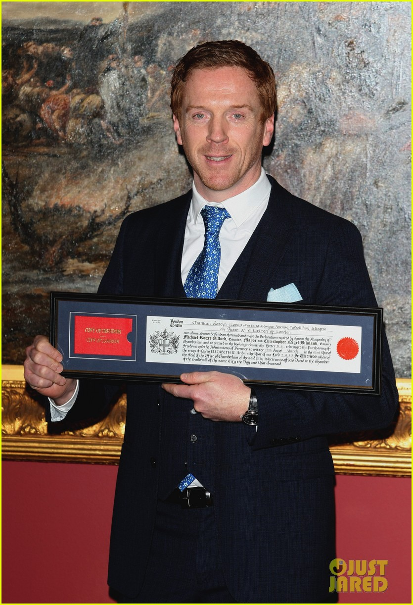 damian lewis freedom of the city of london award recipient 102833480