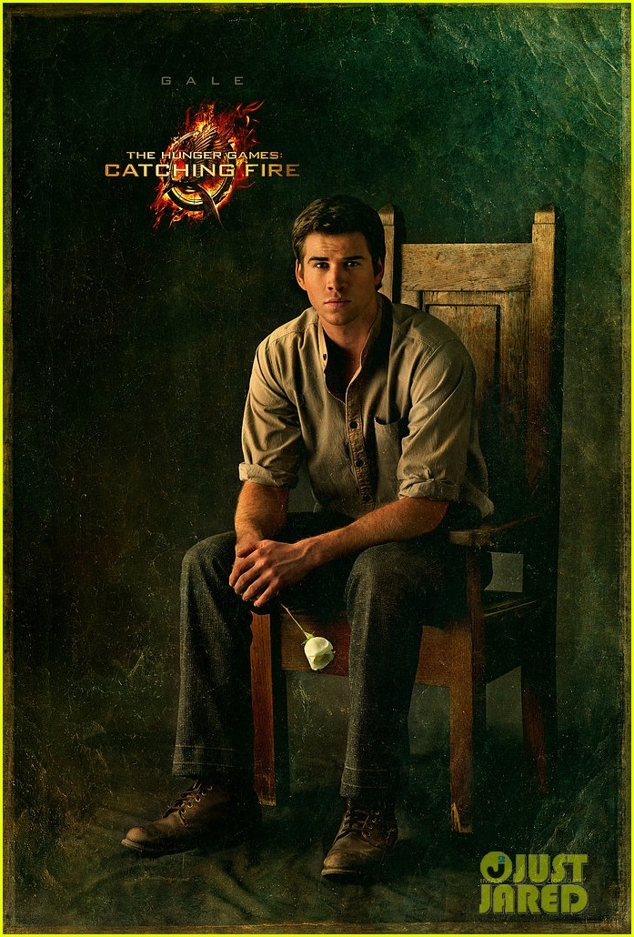 liam hemsworth hunger games catching fire gale portrait 012826836