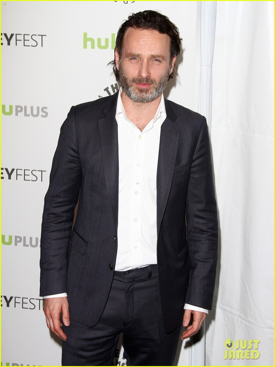andrew lincoln laurie holden walking dead at paleyfest 112823483