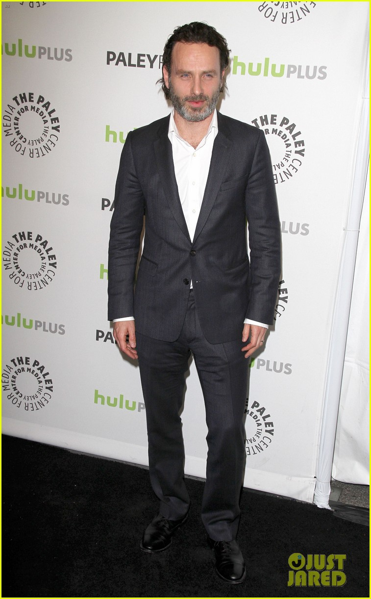 andrew lincoln laurie holden walking dead at paleyfest 122823484