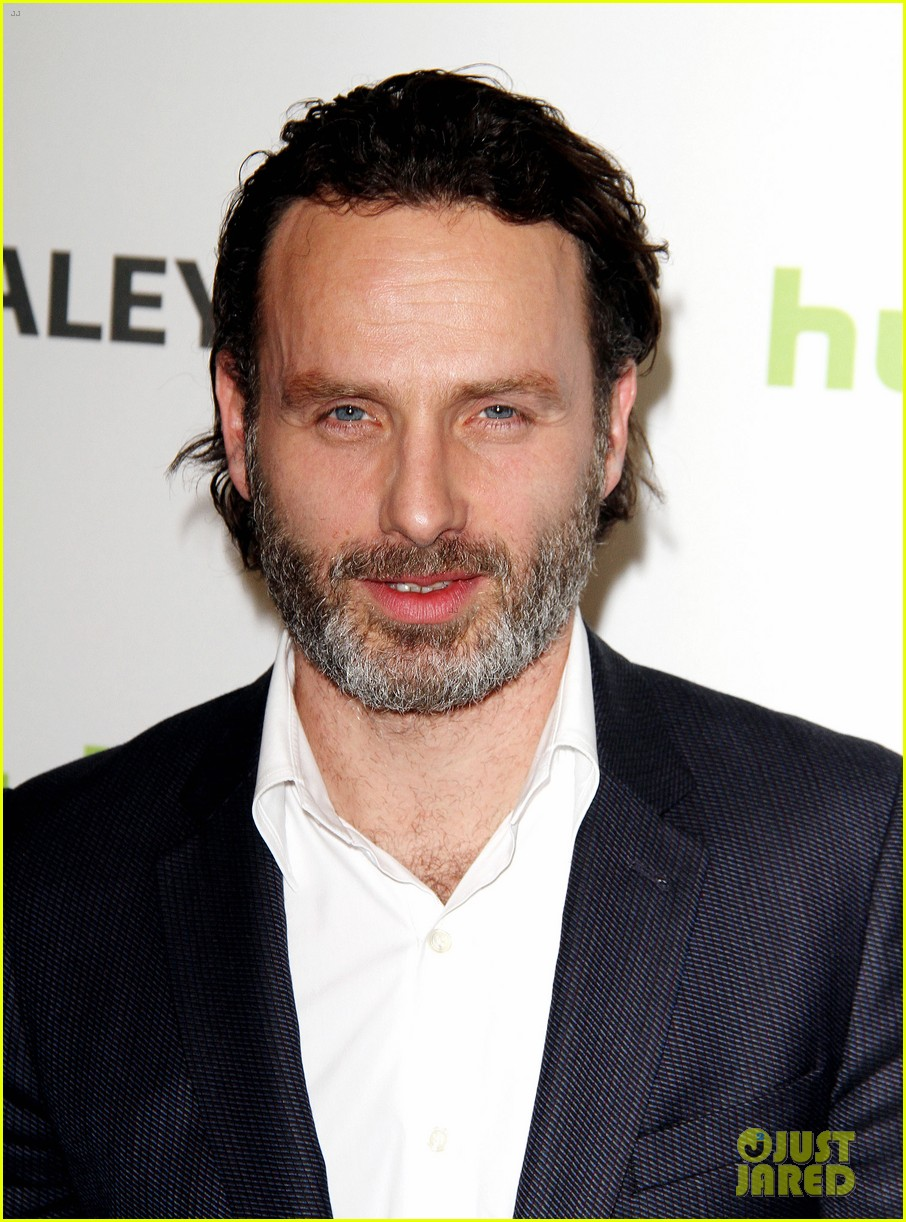 andrew lincoln laurie holden walking dead at paleyfest 132823485