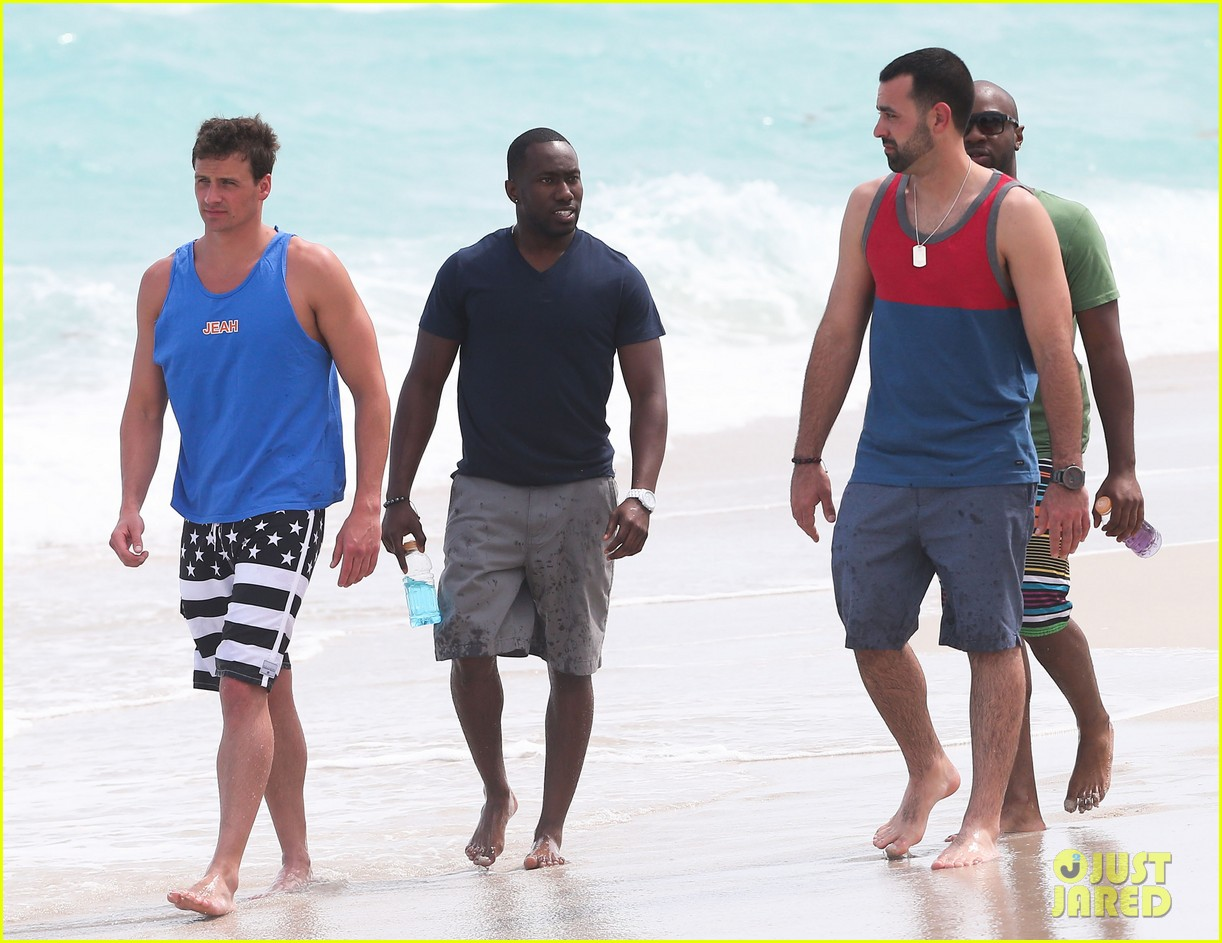 ryan lochte what would ryan lochte do beach filming 222833905