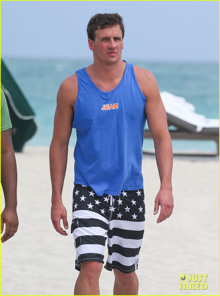 ryan lochte what would ryan lochte do beach filming 272833910