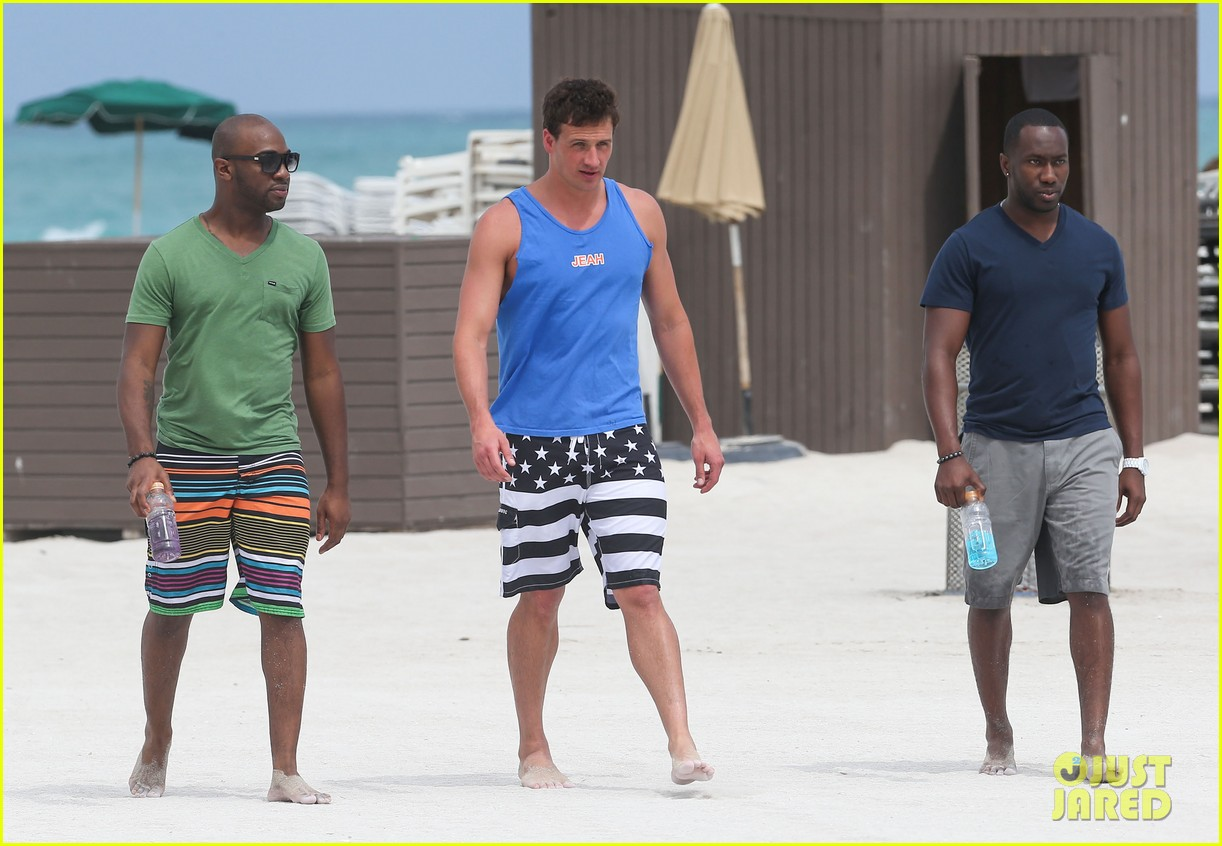 ryan lochte what would ryan lochte do beach filming 322833915