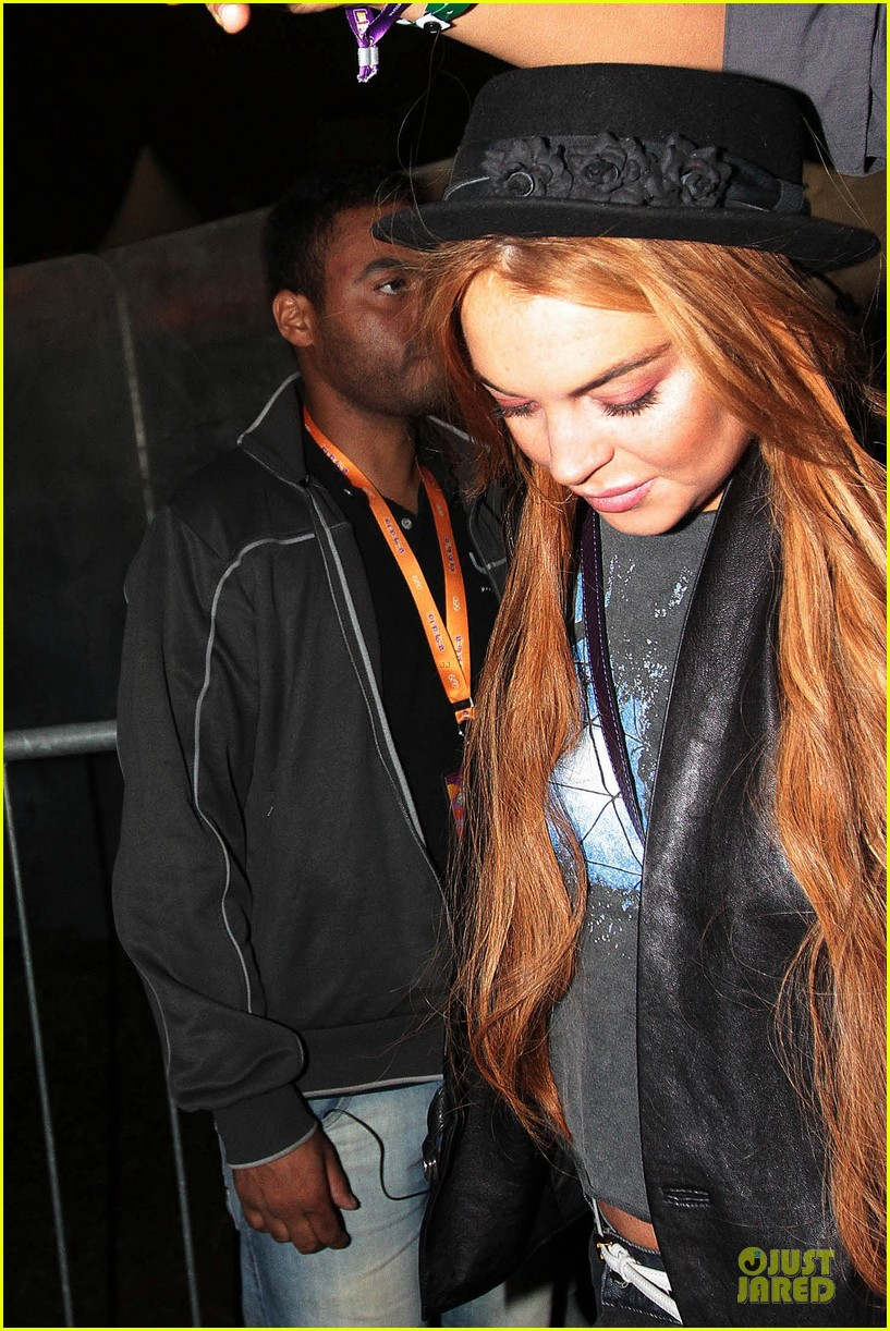 lindsay lohan late show with david letteraman in april 132840242