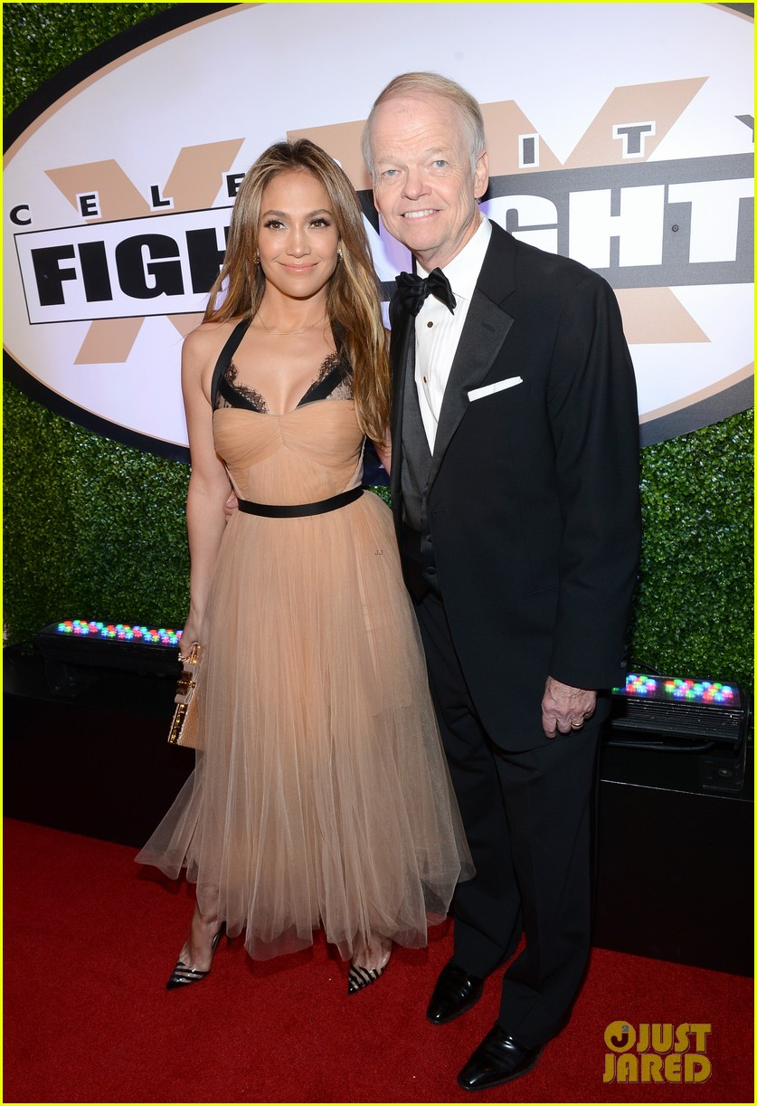jennifer lopez celebrity fight night with casper smart 192836622