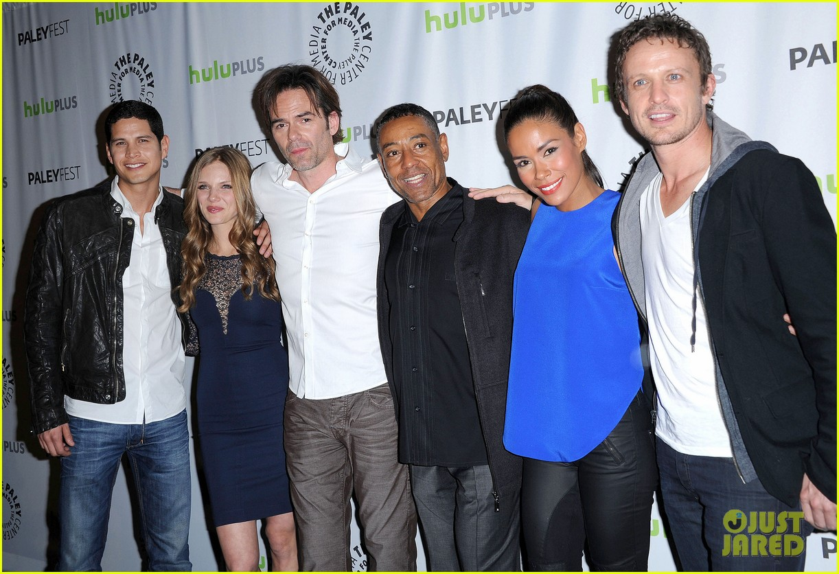 david lyons tracy spiridakos revolution paleyfest panel 132823975