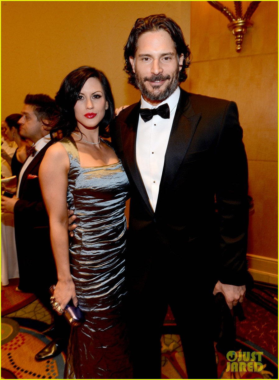 joe manganiello celebrity fight night with bridget peters 042836690