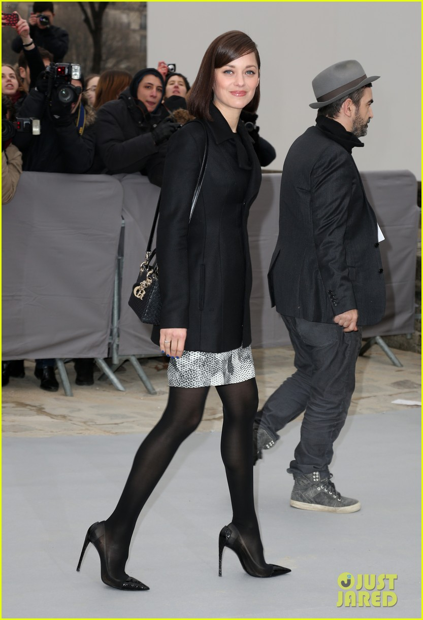 marion cotillard dior paris fashion show 09
