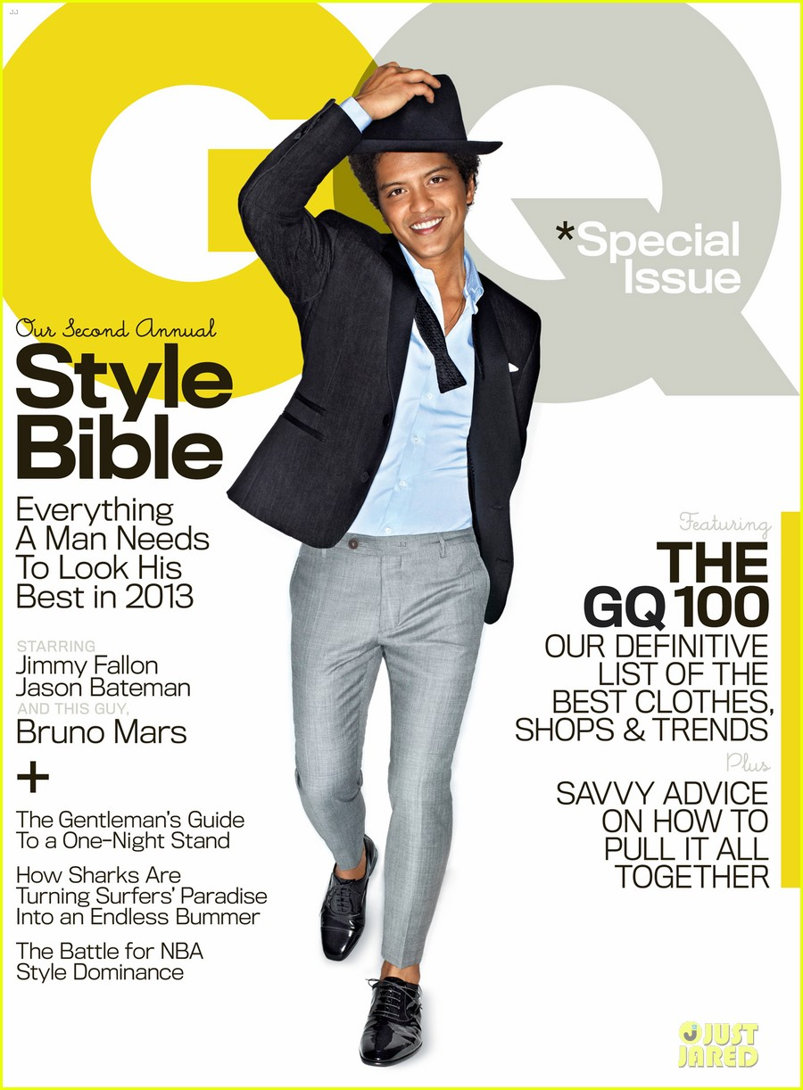 bruno mars covers gq magazine april 2013 02